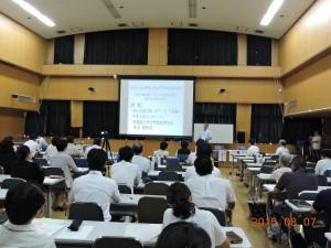 学習院大学長沼豊教授の講義